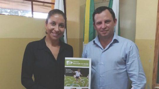 A cidade de Centenário do Sul também realiza o Projeto Ginasium Educação em Saúde