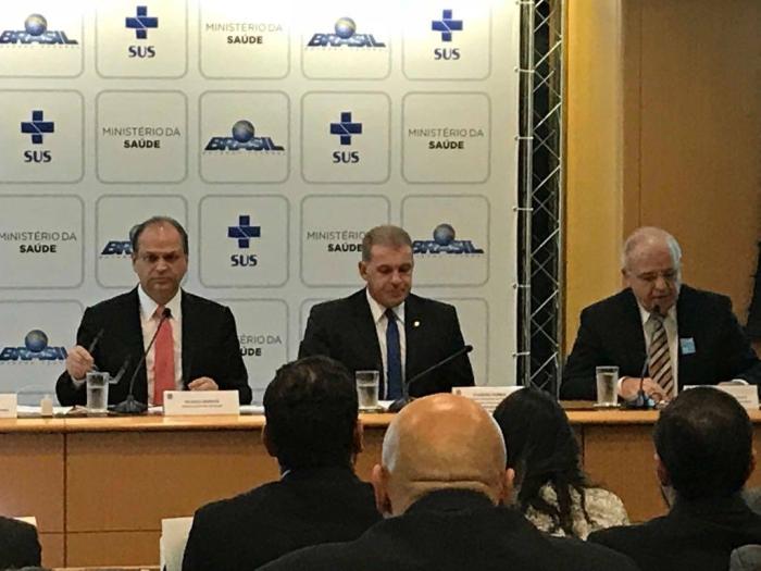 Ministro da Saúde recebe Frente Parlamentar de Combate e Prevenção à Obesidade Infantojuvenil