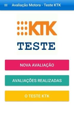 A Ginasium Tecnologia através de seu responsável o Prof. Sandro Lucas Sofiati lançará  Aplicativo de Avaliação Motora TESTE KTK