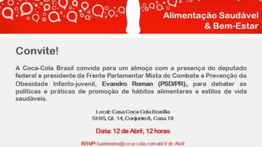 Prof. Sandro Lucas Sofiati participa do evento Diálogos Coca-Cola